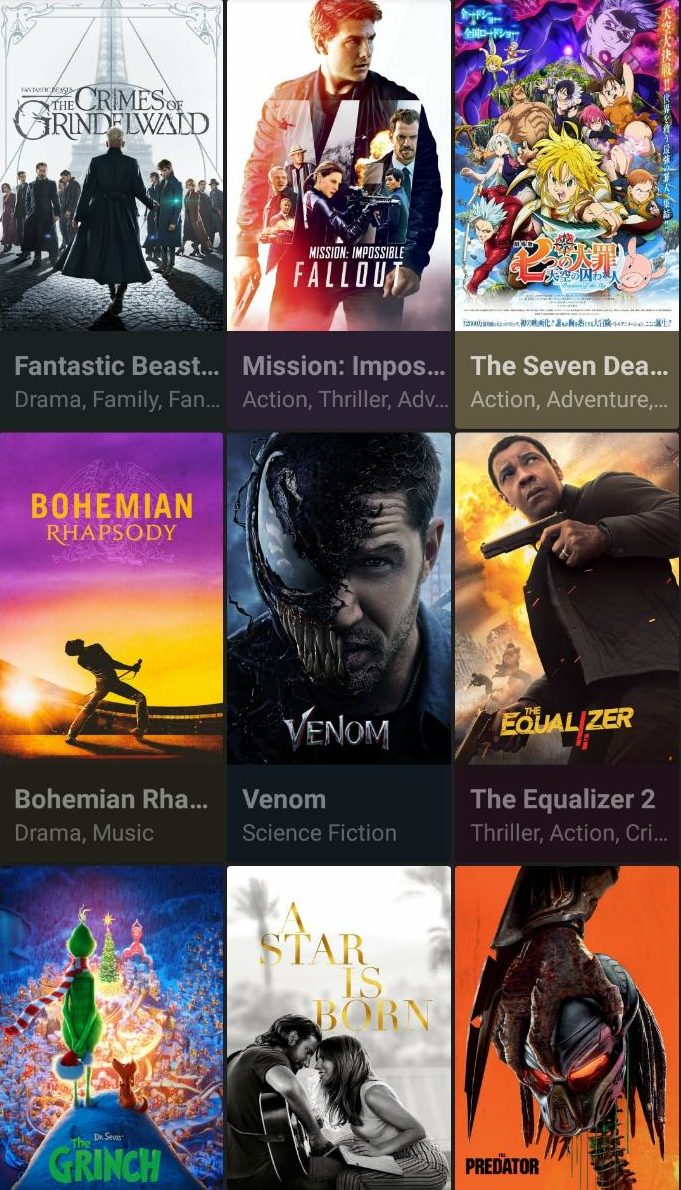 Cinema HD APK Download on Android OS