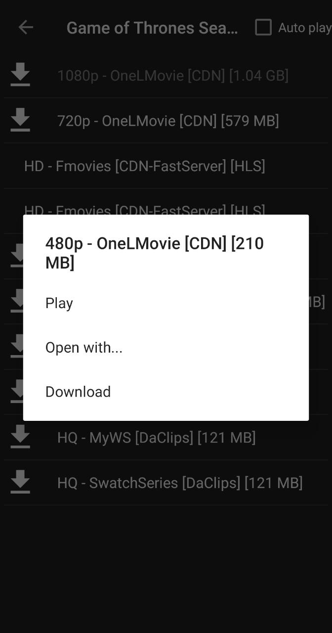Cinema APK Subtitles Not Working Error