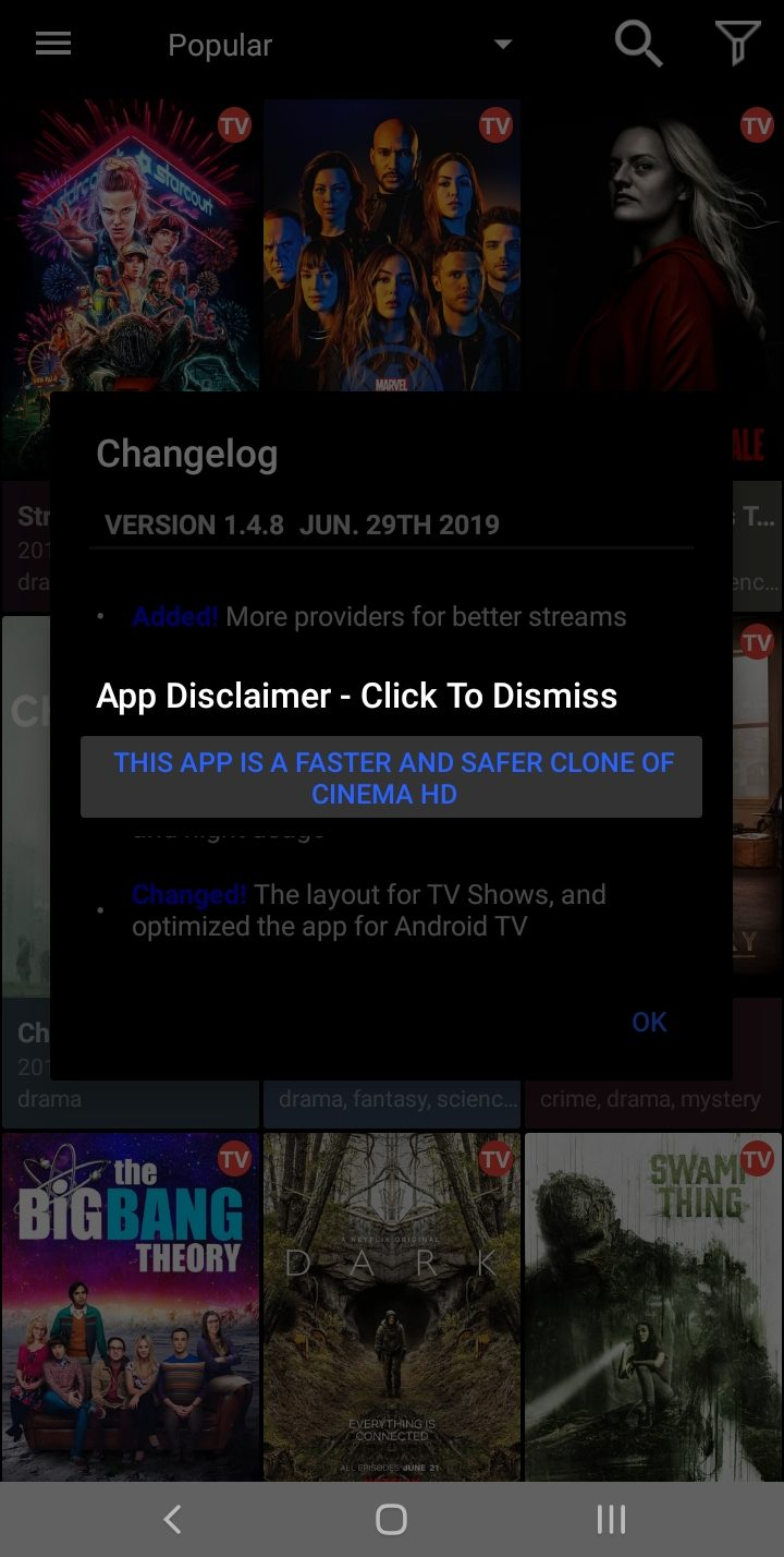 majestic cinema tv apk