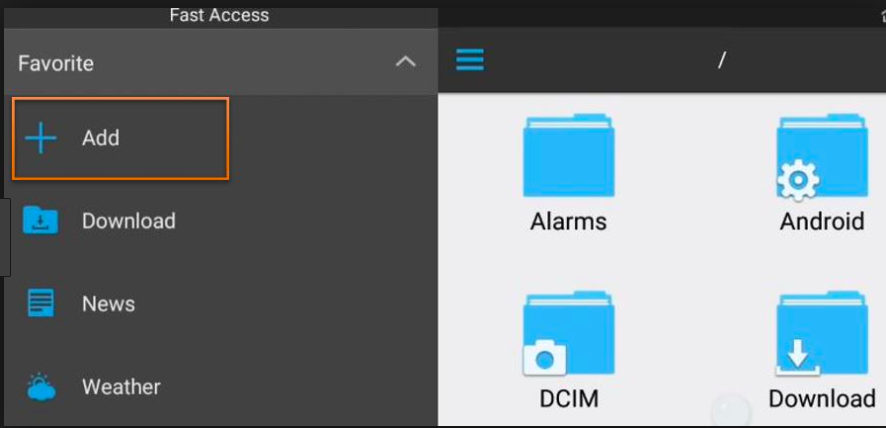 Add - ES File Explorer - Cinema HD APK