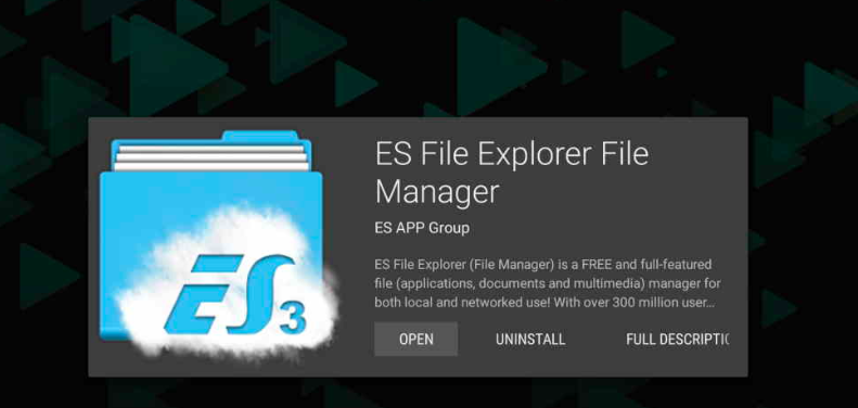 ES File Explorer - Cinema APK
