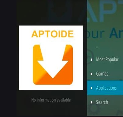Aptoide - Cinema APK on Kodi