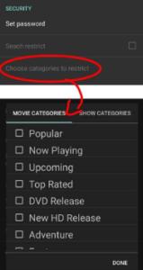 Categories - Cinema HD TV APK