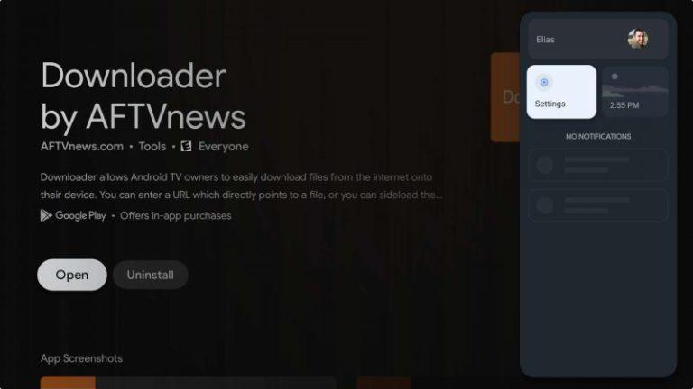 downloader-on-google-tv