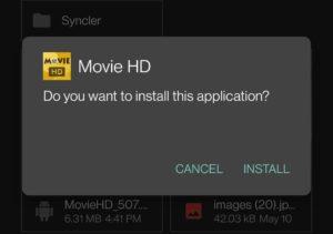 movie-hd install