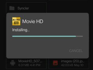 movie-hd installing